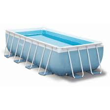 INTEX PRISM FRAME RECTANGULAR POOL 4,88 x 2,44 x 1,07 m (set) 2677